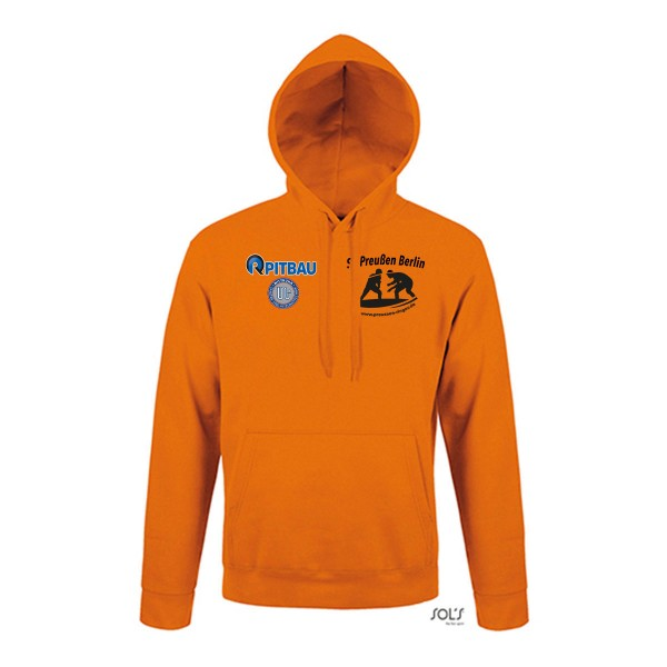 SV Preußen Berlin - Ringer - SOL´s Unisex Hooded Sweat-Shirt Snake orange L330