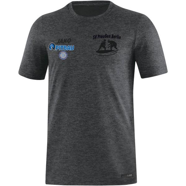 SV Preußen Berlin - Ringer - Jako T-Shirt Premium Basics anthrazit meliert