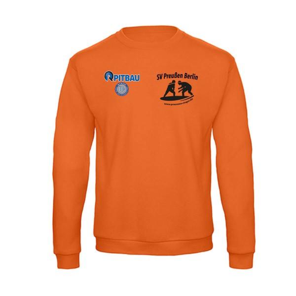 SV Preußen Berlin - Ringer - Sweatshirt ID.202 50/50 pumpkin orange BCWUI23
