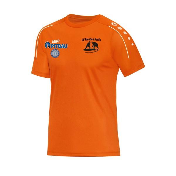 SV Preußen Berlin - Ringer - Jako T-Shirt Classico neonorange