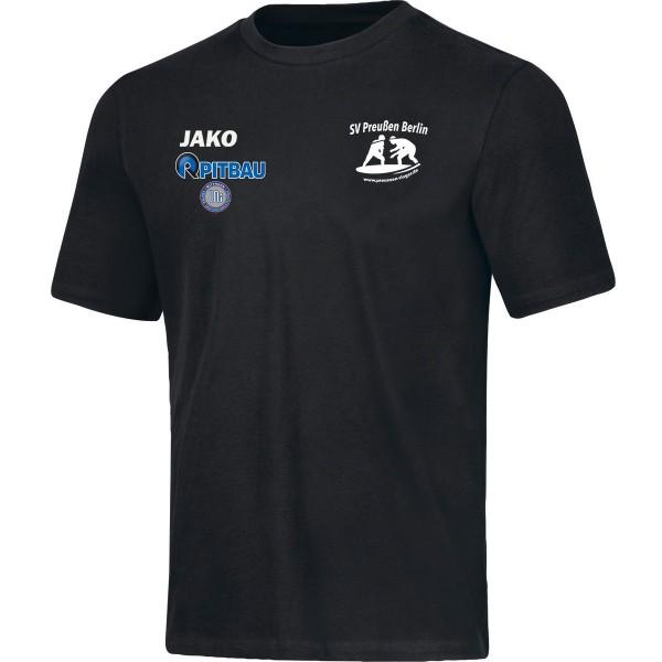 SV Preußen Berlin - Ringer - Jako T-Shirt Base schwarz