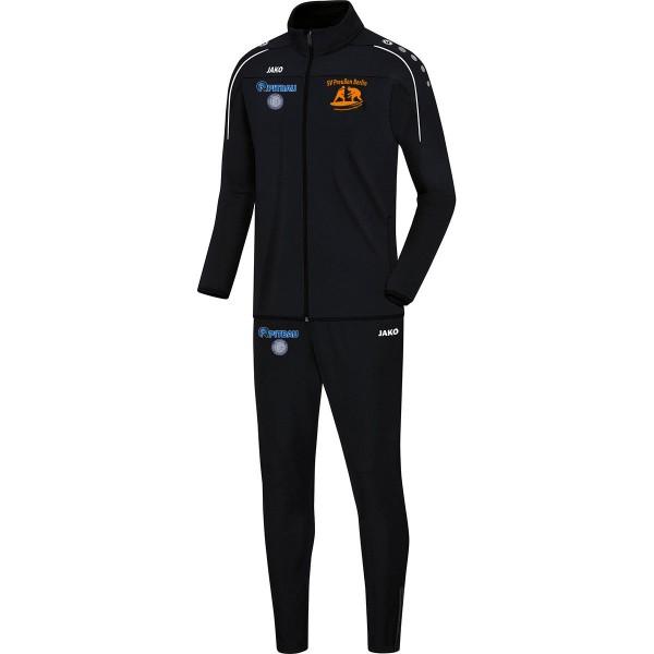SV Preußen Berlin - Ringer - Jako Trainingsanzug Classico schwarz