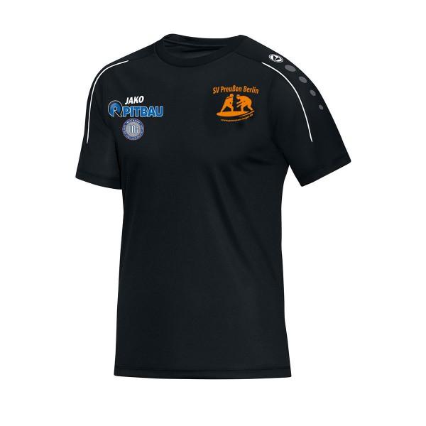 SV Preußen Berlin - Ringer - Jako T-Shirt Classico schwarz