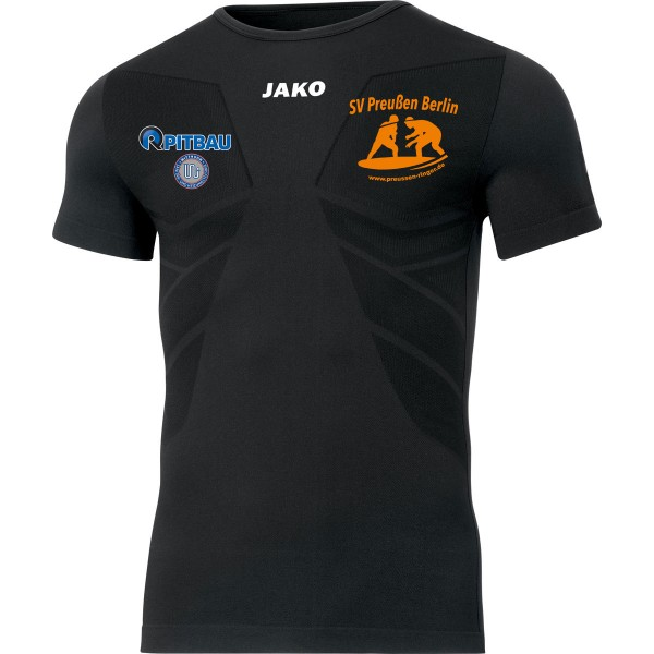 SV Preußen Berlin - Ringer - Jako T-Shirt Comfort 2.0 schwarz