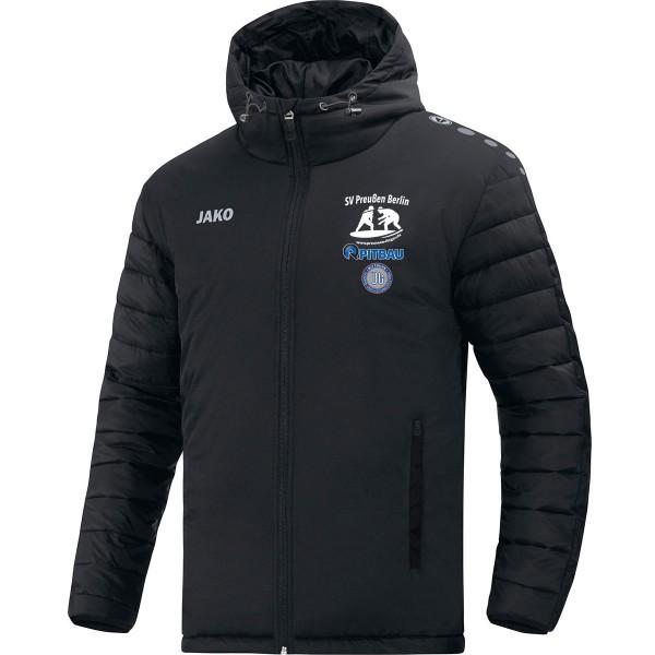 SV Preußen Berlin - Ringer - Jako Stadionjacke Team schwarz